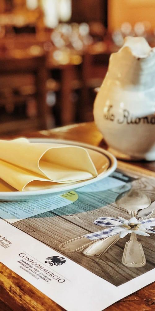 Lo Riondet - Storia e cucina